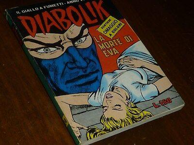 Diabolik Anno Vi Numero 24 Con Adesivi Astorina 1967 Originale - Ottimo !! 5