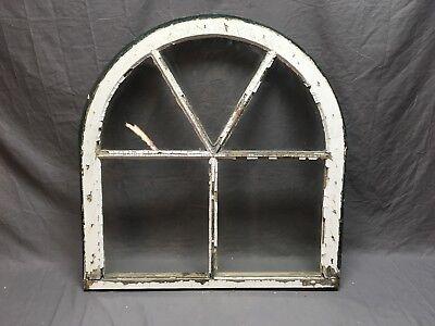 Antique 5 Lite 31x30 Arched Dome Top Window Sash Shabby Cottage Vtg Chic 473-18E 6