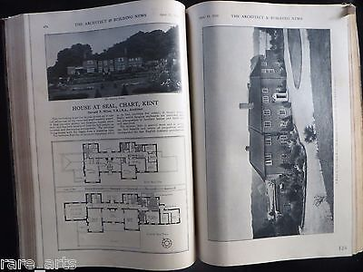 1930 Architecture issues Collection PREwwii The Architect & Building News Book