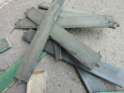 LOT of salvaged WOODEN victorian SHUTTER slats GREAT 4 ART painting projects 8