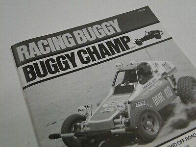 Nouveau tamiya buggy champ instructions VERSION 2009 build manuel 58441 rough rider
