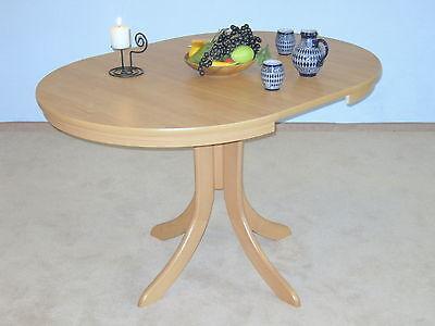 tisch ausziehbar rund esstisch k chentisch esszimmertisch. Black Bedroom Furniture Sets. Home Design Ideas