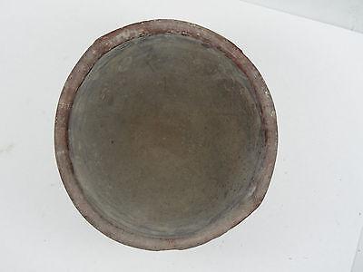 "Antique Pre-Columbian Oaxaca Valley Vessel Bowl   ~ 3.5"" 8"