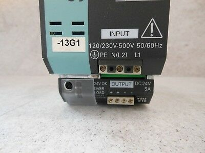 used-SITOP modulaire 5 A 1//2 Ph Siemens 6ep1 333-3ba00