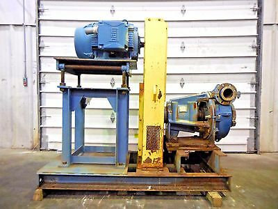 "RX-3623, METSO HM150 FHC-D 6"" x 4"" SLURRY PUMP W/ 75HP MOTOR AND FRAME"