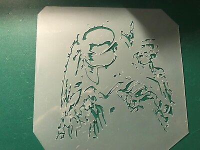 Multilayer step by step airbrush stencil PREDATOR 4 3