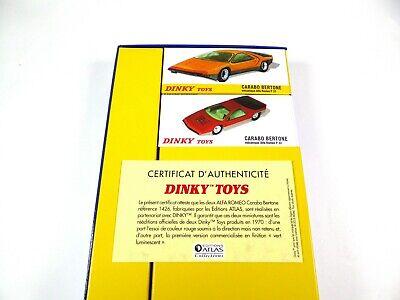 Coffret Collector Alfa Roméo Carabo Bertone DINKY TOYS Voiture Miniature MB101 11