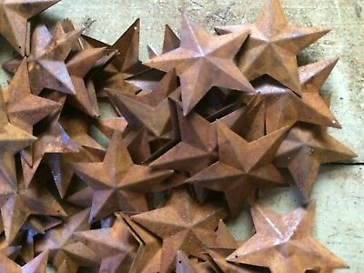 """Lot 100 Rusty Barn Stars 2.25 in 2 1//4/"""" Primitive Country Rust Craft SHIPS FREE"""