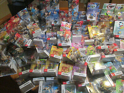 Amiibo Us Authentic Complete Your Collection Target ++ Nintendo Wii U 3Ds Switch 3