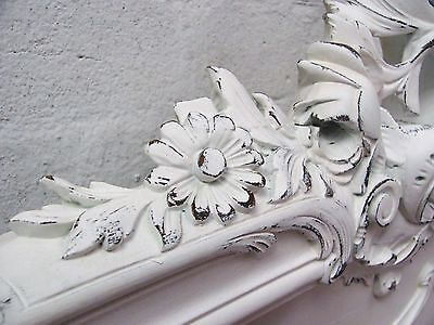 Stunning Antique French Double Rococo Crested Bed - C1920 9