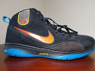 meet db5e9 81a57 ... Nike KD 1 Okc Black Orange Royal sz 12 Used Rare 344472-081 Photo  Thunder