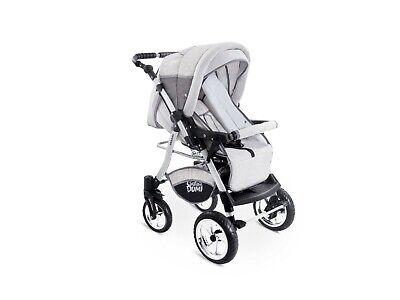 Passeggino TRIO Baby Carrozzina 3in1 Seggioliono OVETTO AUTO GagaDumi Urbano 8