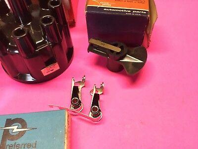 1969,1970,1971,1972,1974,,Chrysler,Ignition Distributor Point Rotor Tune kit 4