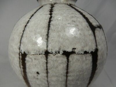 """Rare / seltene 60´s design Carstens Luxus """" Lava """"  Keramik Vase  191 - 23 8"""