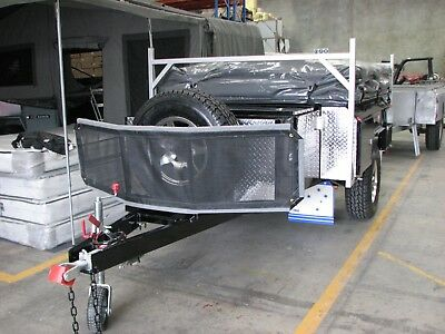 Travel Cover For Camper Trailer Tent, Universal Fit For Most Models,2.3x1.75(M) 3