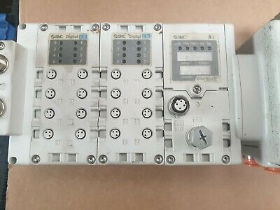 Smc Ex600-Sen1 W/ X2 Ex600-Dxpc1 W/ X4 Vqc220Nr-5C1 W/ Vvq2000-10A-1  (R5S6.4) 2
