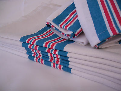 "24 new baby infant receiving swaddling hospital blankets large 30""x40"" striped"