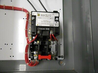 1 Nuovo Square D 8538SBG Dimensione 0 1PH Combinazione Avviatore Monofase 120V 3