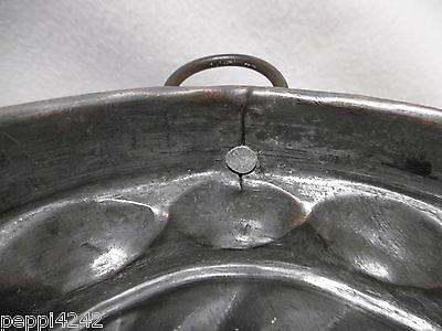 ++  alte  Kupfer Backform - Kupfermodel / Kuchenform Ø 15,5 cm ++ 6
