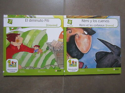 Coleccion 18 Libros Multicolor Cuentos Del Mundo Editorial Ecir. Bilingues 5