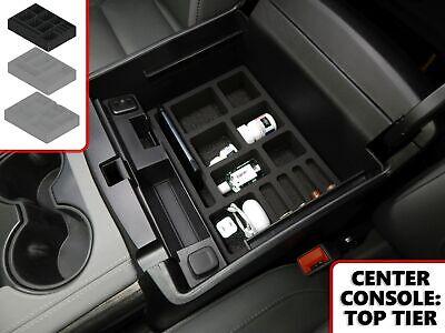 Fits Chevy Tahoe 15-19 Vehicle Organizer Insert Full Center Console Glove Box