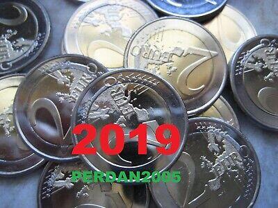 Malta 2019 2 Euro Fdc Unc Natura E Ambiente Malte Мальта 马耳他 4/5 2