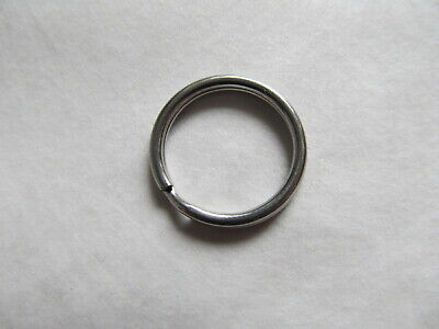 """20mm 316 Stainless Steel Key Rings HEAVY DUTY Split Fishing Scuba 10 pack 3/4"""" 3"""