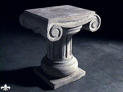 Italian Column Statue Pillar Table Stone Carved Stand 9