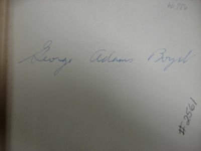 Elias Boudinot Patriot and Statesman written and signed by George Adams Boyd 2