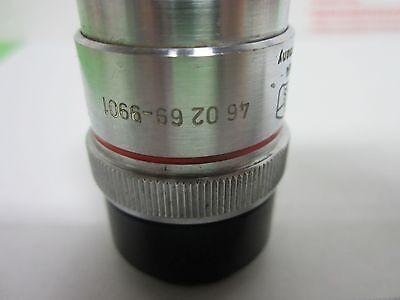 Microscope Objective Zeiss Allemagne Ld-Epiplan 4x Long la Optiques Bin #P4-98 3