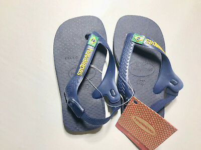 low price hot sale online wide range HAVAIANAS BABY TODDLER Boys/ girls Brazil Logo Flip Flops ...