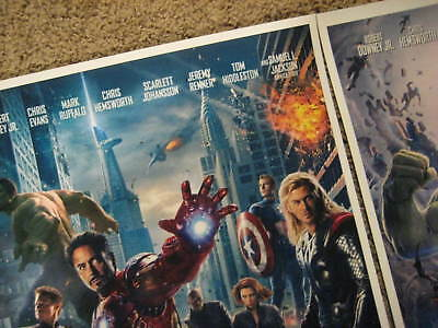 "Avengers -  (11"" x 17"") Movie Collector's Poster Prints (Set of 3) 4"