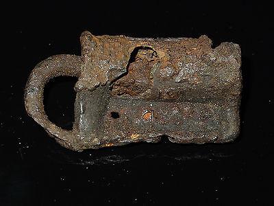 Fine  Viking Iron  padlock. c 800-1000 AD 11