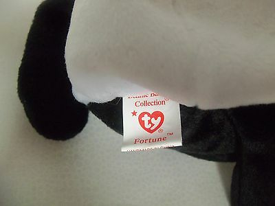 TY Beanie Babies Panda Bear ** FORTUNE ** 5th Generation New w/ Tag
