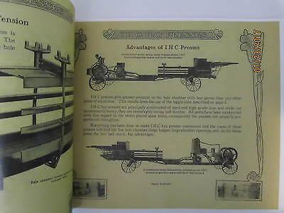 IHC Hay PressSales Catalog, hay press, gas engine Catalog 3