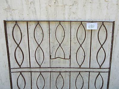 Antique Victorian Iron Gate Window Garden Fence Architectural Salvage Door #630 4
