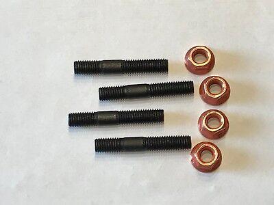 + Kupfermutter M8 SW13 mit Sicherung mit Bund 16 St M8x45 Stehbolzen M8x46