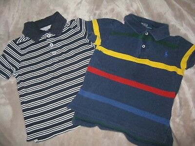 Adorable Lot of 2 Boys' Ralph Lauren and Old Navy Short Sleeved Shirts - Size 2T 2