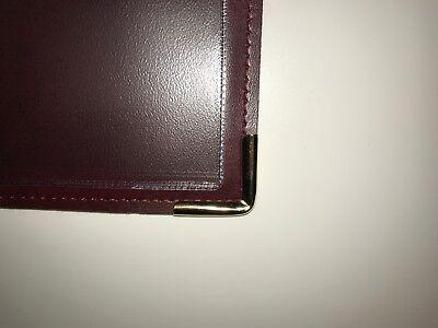 Qty 20 (Pu Leatherette) Top Quality A4 Menu Folder In Black Or Burgundy 5