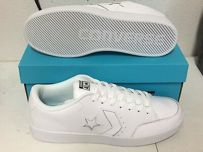 CONVERSE STAR COURT OX White Leather MENS 159802C NEW - $69.95 ...