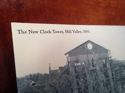 Post Card Back to the Future III Hill Valley Clock Tower 1885 bttf 3 hoverboard 6