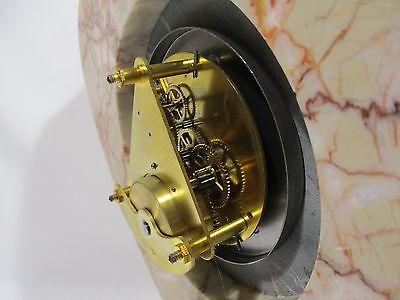 Antique Pendulum Clock Mecanique Bayard Vintage Clock Pendulum Orologio 10