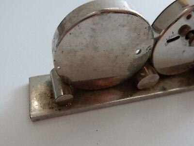 ART DECO ERA   trio clock barometer etc to restore 10