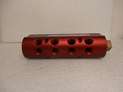 "Burger /& Brown SmartFlow Water Manifold New 8 Ports with 1 1//2/"" Plug"