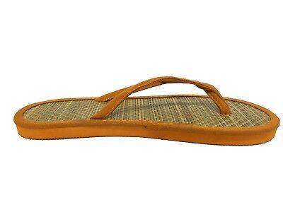 12x Womens Ladies Bamboo Beach Flip Flops Job Lot Casual Summer Slippers Shoes 3