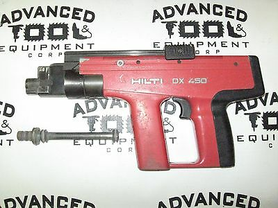 Array - hilti dx450 powder actuated fastener nailer tool with carrying case      rh   picclick com