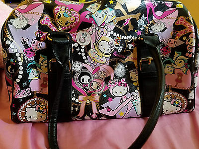 b498078e12ce ... TokiDoki Authentic Discontinued Purse Sanrio Hello Kitty Japan Harajuku