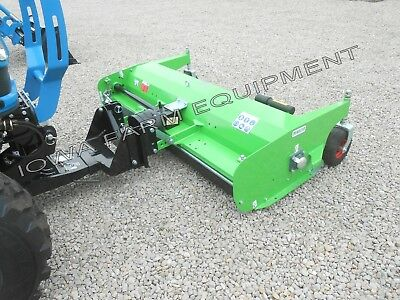 FRONT MOUNTED FLAIL Mower with Front 'LS' Hitch: Peruzzo Scorpion 1600 60