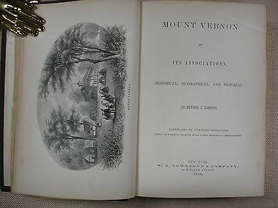 Mount Vernon and Its Associations by Benson J. Lossing - 1859 - Bible