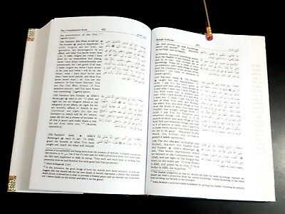 ISLAMIC BOOK (BULUGH AL-MARAM) PROPHET HADITH P in 2002. English Arabic 7